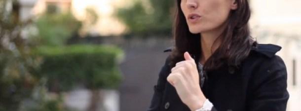 Rebeca Minguela de Blink Booking en Start Up Spain 3.0