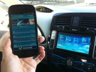 Recargar música multimedia en coche