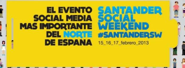 Santander Social Weekend, epicentro del social media este fin de semana