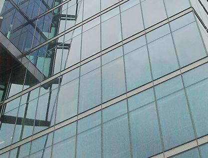 Vidrio electrocrómico para ventanas inteligentes