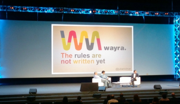 Wayra: the rules are not written yet