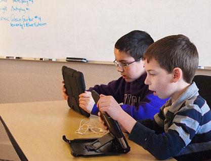 Las nuevas tecnologías son cosa de niños