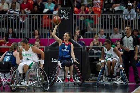 Jugadoras de la selección británica de baloncesto paralímpico