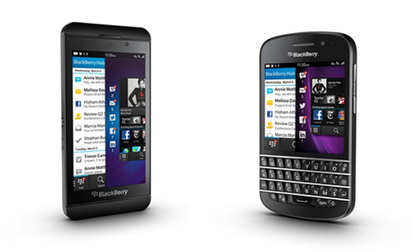 blackberry z10 q10