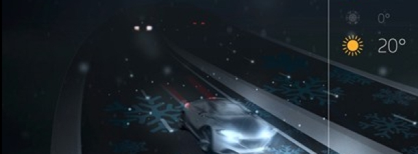 Carreteras inteligentes que brillan en la oscuridad