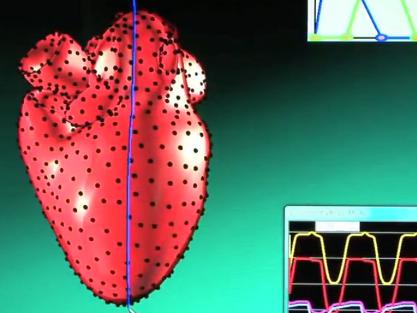 Simulando un corazón desde un portátil y en tres dimensiones