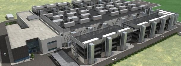 Un Centro de Proceso de Datos ocupará 8 campos de fútbol