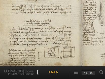Leonardo da Vinci ya es interactivo