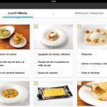 Adrià en casa - la aplicación del Ferrán Adrià y elBulli - menus y platos
