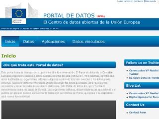 Portal open data de la UE