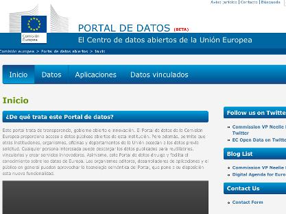 La Comisión Europea lanza en beta pública su portal open data