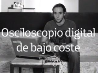 Samuel López ha desarrollado un osciloscopio digital de bajo coste dentro del programa Talentum