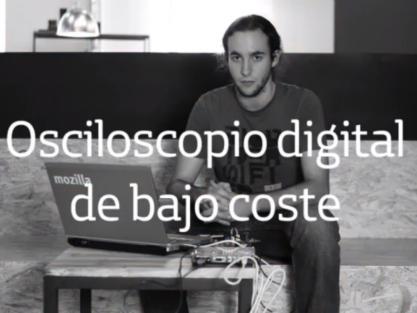 Samuel López: osciloscopio digital de bajo coste