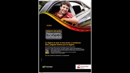Pago como conduzco: tecnología y seguro de coche juntos