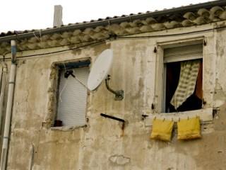Parabólicas en la favelas