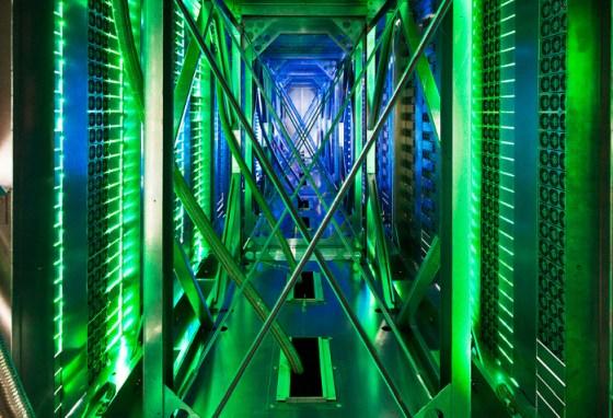 pasillo verde Google