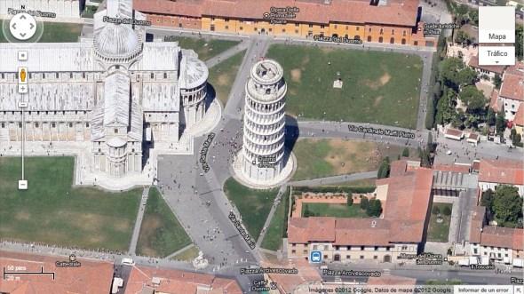 pisa imagen Google Maps