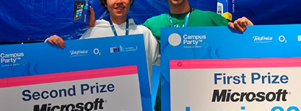 Dos Talentum en la Campus Party Europe