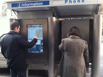 Revolucionando las cabinas de teléfono de Nueva York