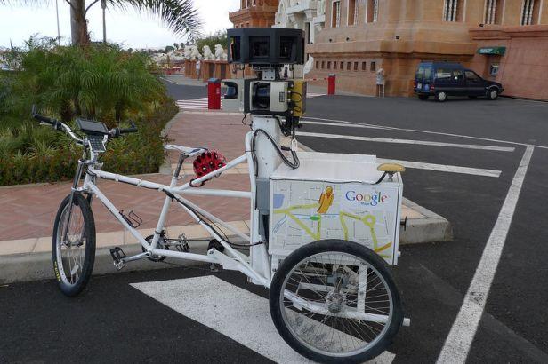 triciclo Google Maps