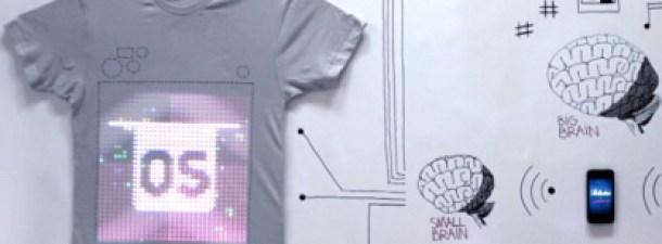 Camisetas programables: la tecnología se cuela en la moda