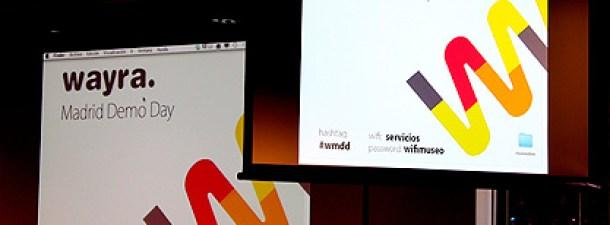 """""""DemoDay Madrid 2012"""" 1ª promoción de startupsWayra en España"""